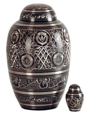 urn voor crematie