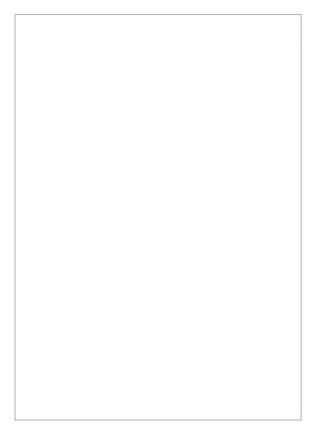 Rouwkaart blanco met een grijs kader