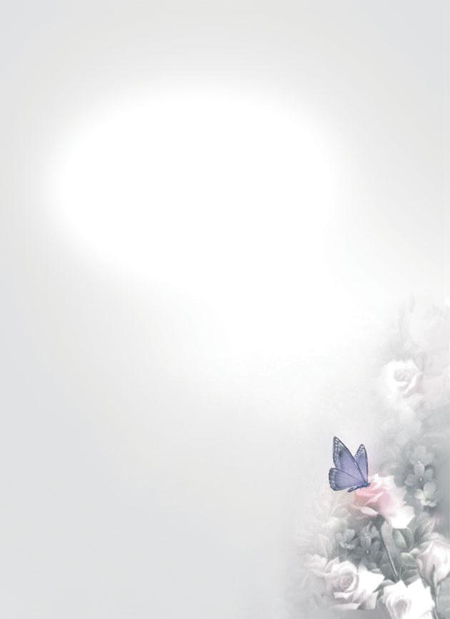 Rouwkaart 'De Vlinder'